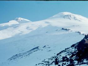 Ranní sopka Elbrusová