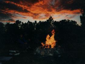 Arizona - pohoda u ohně
