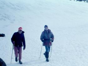 Tom se vrací z Elbrusu 5624m