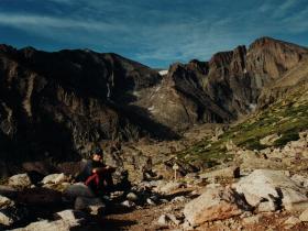 Longs Peak - 4 400 m