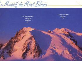 Sjezd z Mont Blancu